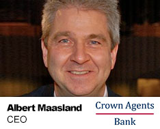 Albert Maasland crown agents bank