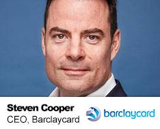 Steven Cooper Barclaycard CEO