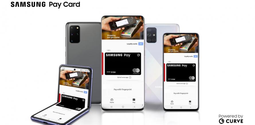 Samsung PayCard - Samsung-Curve